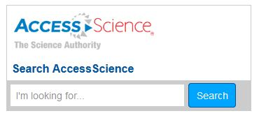 AccessScience Search Widget