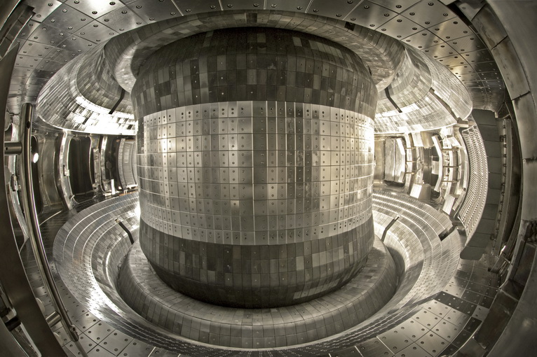 Interior of the EAST tokamak in China