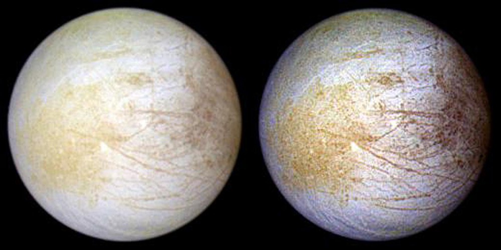 Europa full disk view