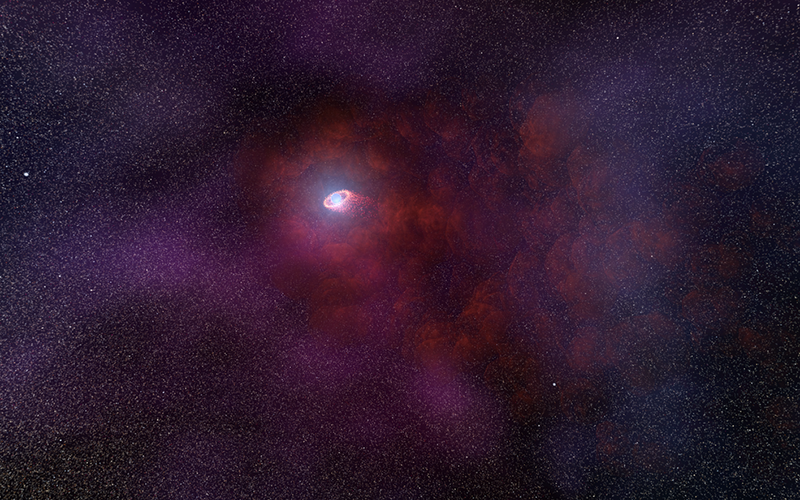 neutron star with pulsar wind