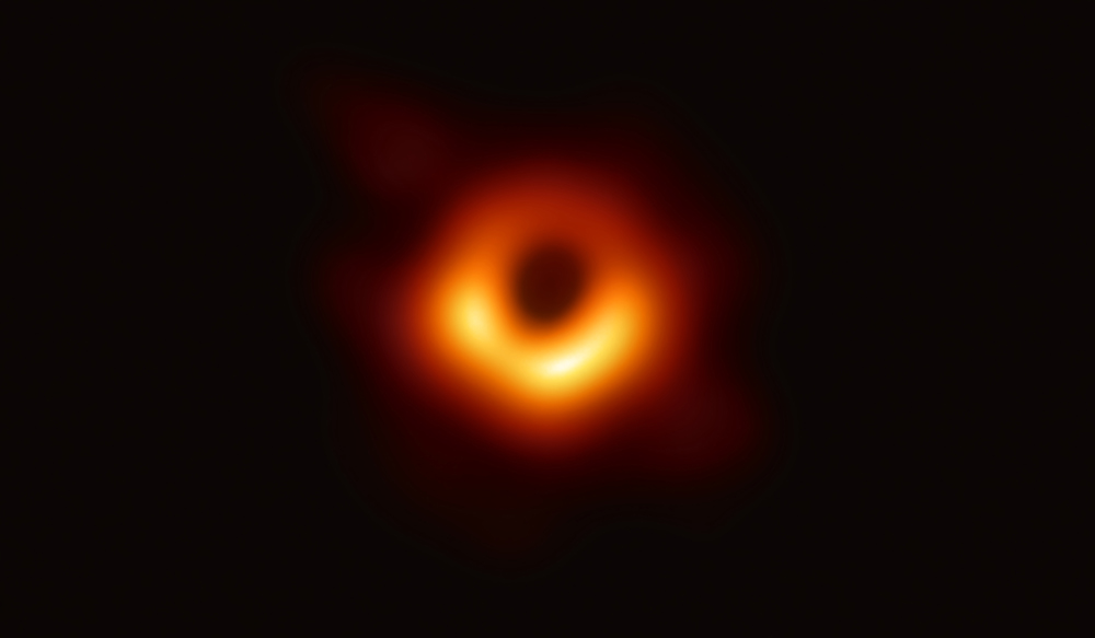 first image of black hole from Event Horizon Telescope