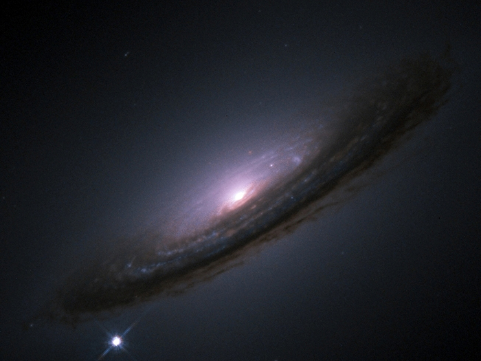 Supernova 1994D outshines an entire galaxy.